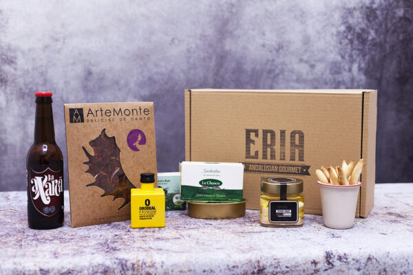 Regalar producto gourmet de Andalucía